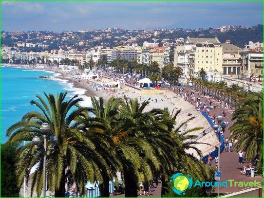 Näköalapaikat Nizza