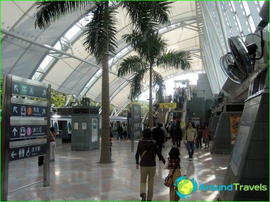 Hong Kong Metro: kartta, kuva, kuvaus