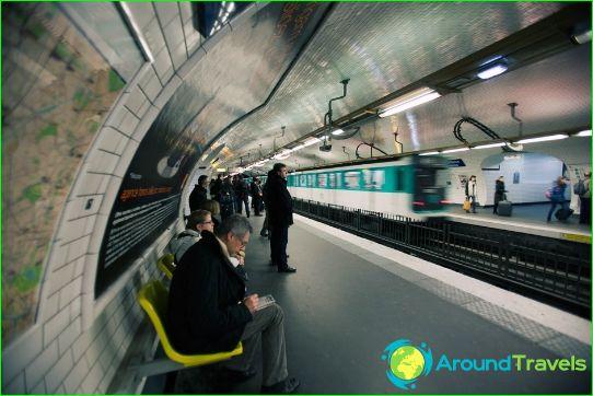 Парижко метро: карта, снимка, описание