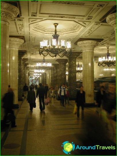 Metro van Sint-Petersburg: kaart, beschrijving, foto