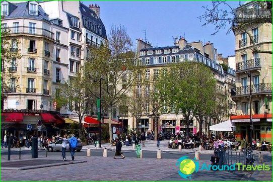 Winkels en markten van Parijs