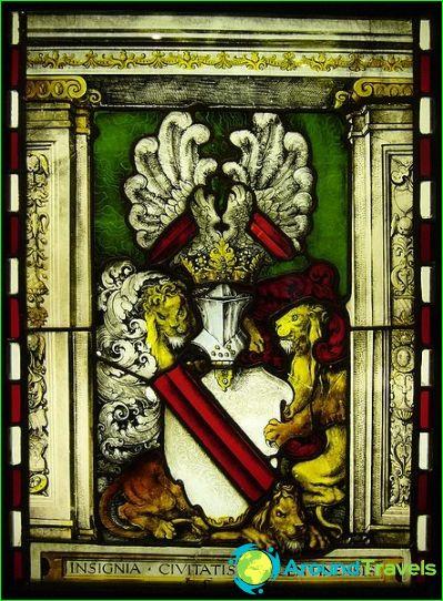 Glasraam met het wapen van Straatsburg