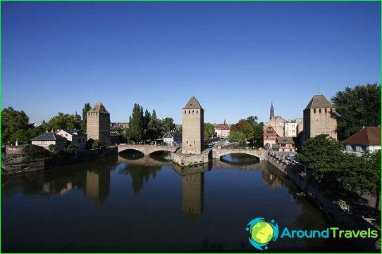 Stadsversterkingen en bruggen van Straatsburg