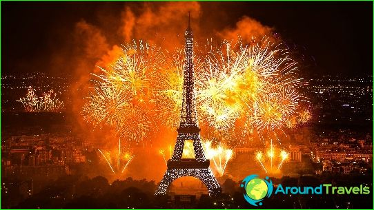 Nieuwjaar in Parijs
