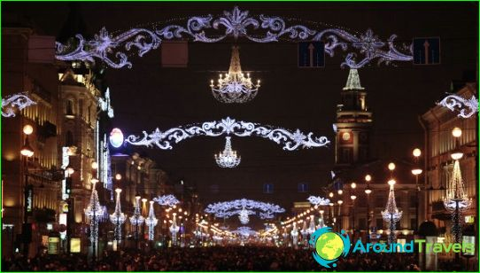 Uusi vuosi Pietarissa