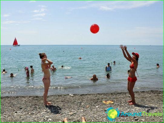 Stranden van Rusland