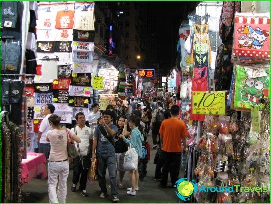 Hongkongin kaupat ja ostoskeskukset