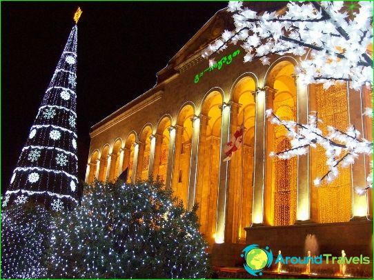 Uusi vuosi Tbilisissä