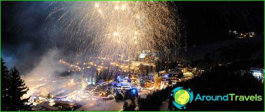 Nieuwjaar in Courchevel