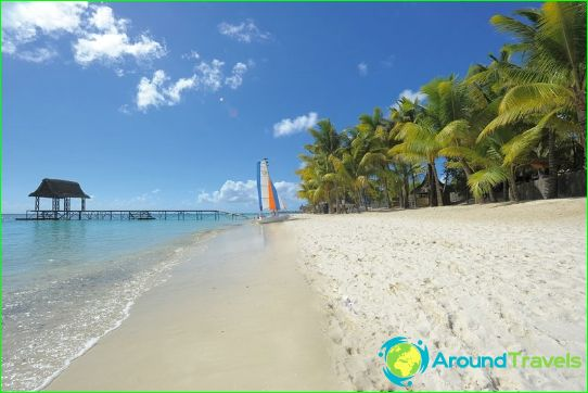 Plaże Mauritius