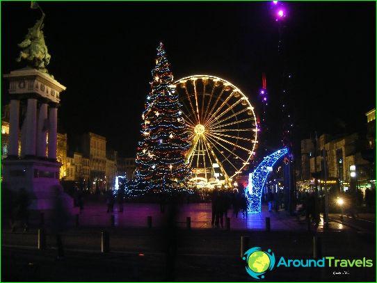 Jul I Frankrike Tradisjoner Foto Som Julen Feires I Frankrike 2016