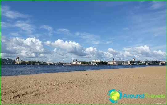 Плажовете на Санкт Петербург
