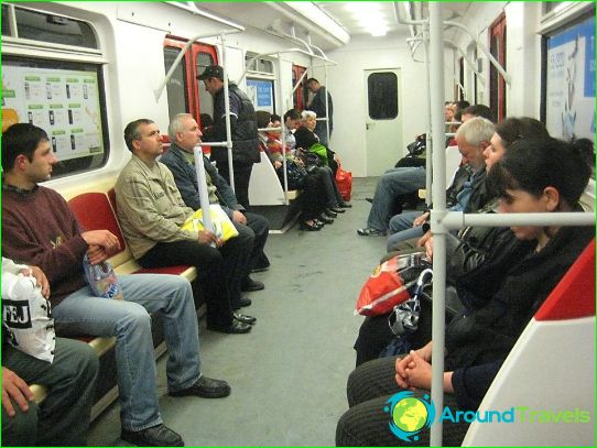 Metro van Tbilisi: schema, foto, beschrijving