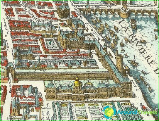 متحف اللوفر عام 1615