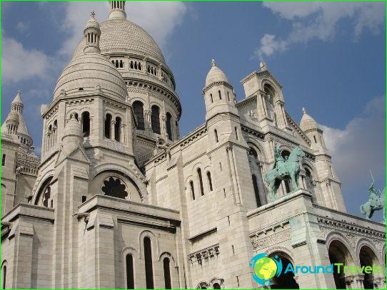 كنيسة Sacre Coeur في مونتمارتر
