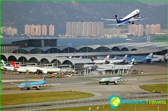 Luchthaven Hong Kong