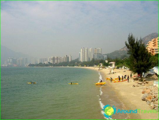 Stranden van Hong Kong