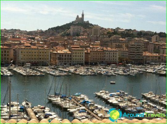 Uitzicht op de oude haven