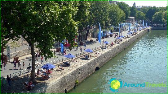 الشواطئ في باريس