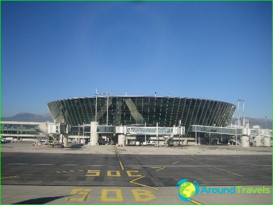 Leuke luchthaven