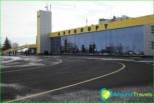 Lentokenttä Stavropol