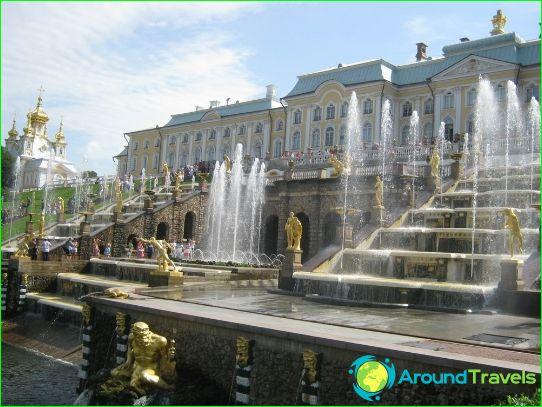 الرحلات في Peterhof