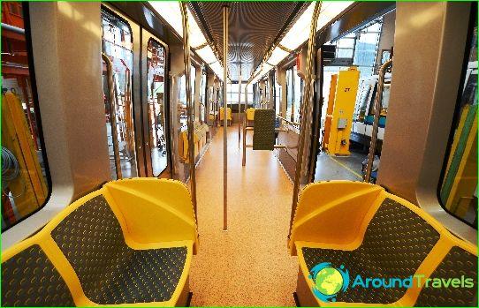 Metro Renna: kaavio, valokuva, kuvaus