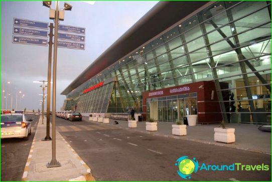 Lentokenttä Tbilisissä