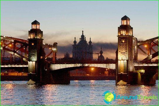 Onafhankelijke reis naar St. Petersburg