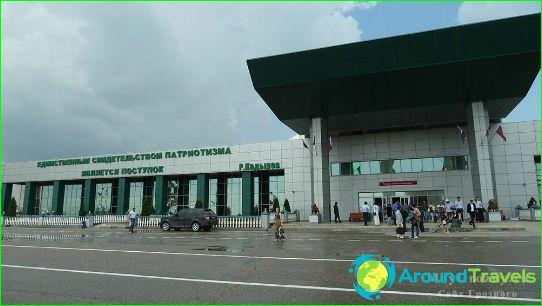 Luchthaven in Tsjetsjenië
