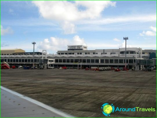 Luchthaven in Mauritius