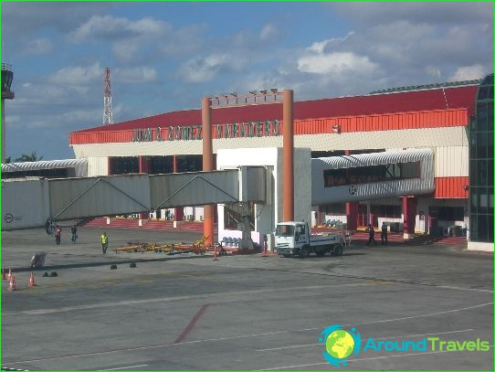 Luchthaven in Varadero