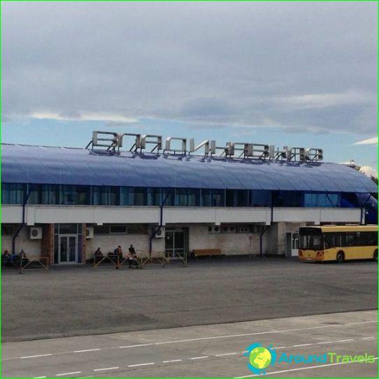 Luchthaven in Vladikavkaz