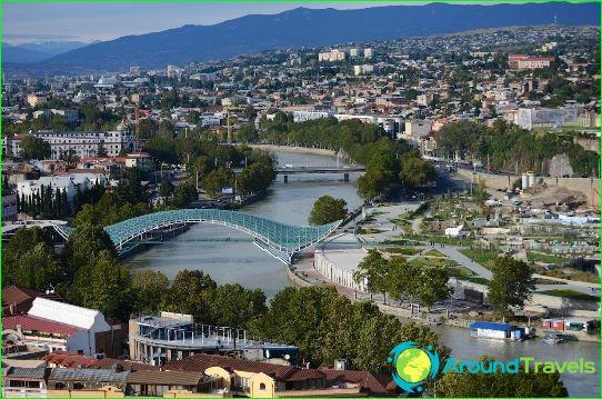 Tbilisi - Georgian pääkaupunki