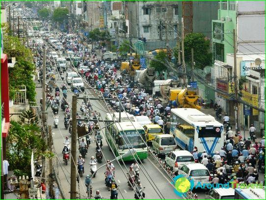 Kuljetus Ho Chi Minh Cityssä