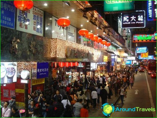 Verkoop in Hong Kong