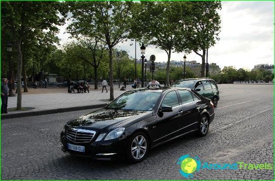 Taksi Pariisissa
