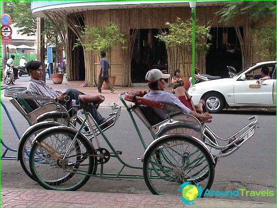 Такси в град Хо Ши Мин