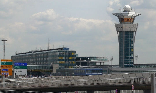 Luchthaven Orly in Parijs