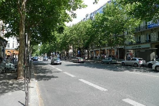 Boulevard of Capuchin in Parijs