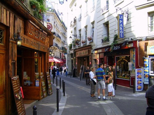 الحي اللاتيني في باريس