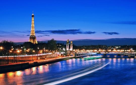 Nacht Parijs