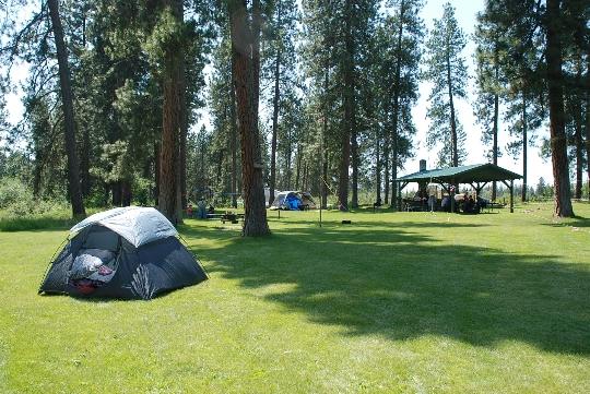 Къде да почивате с палатка в Русия