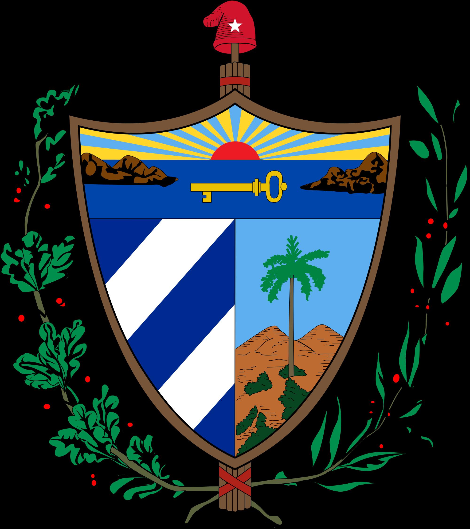Kuuban vaakuna