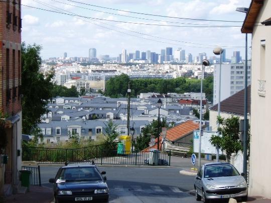 Buitenwijken van Parijs