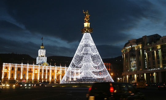 Kerst in Tbilisi