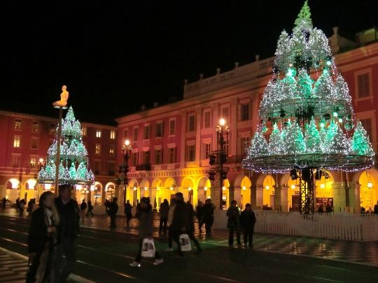 Kerstmis in Nice