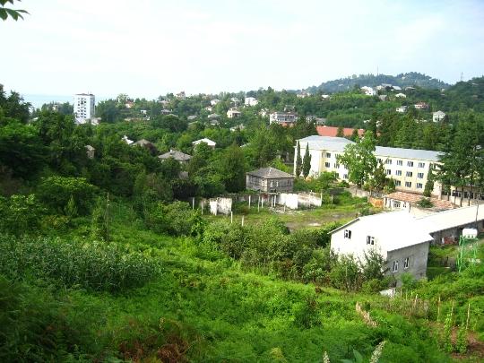Предградията на Батуми