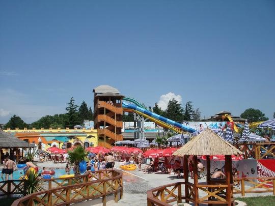 Waterparken in Tbilisi