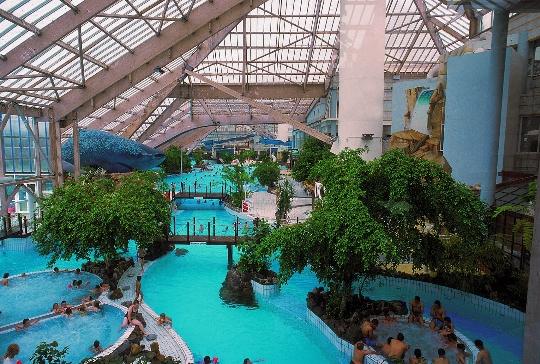 Waterparken in Parijs